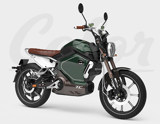 Electric Smartmoto Super Soco TS1500